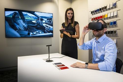 Zum Artikel Audi startet Virtual Reality im Autohaus
