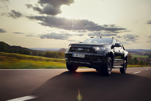 Ford Ranger Black Edition.