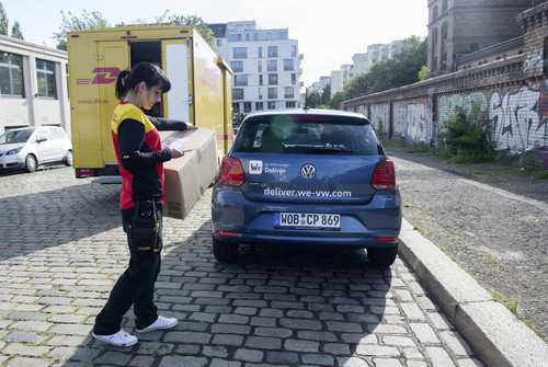 DHL und VW testen Paket-Zustellung in den Kofferraum