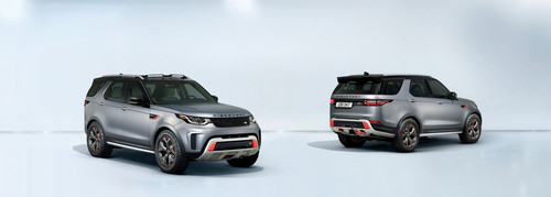 Land Rover Discovery SVX.
