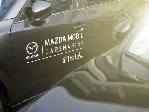 Mazda startet Carsharing-Pilotprojekt