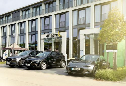 Nun steigt auch Mazda ins Carsharing ein