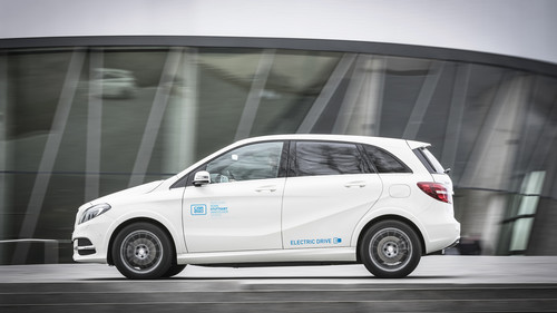 Car2go: Mercedes-Benz B-Klasse Electric Drive.
