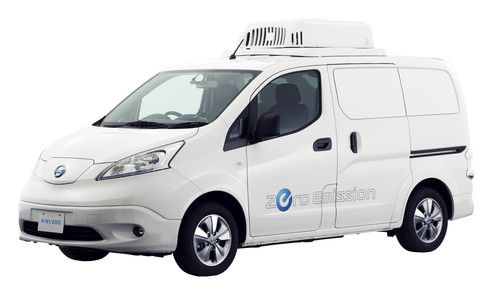 Nissan e-NV200 Fridge Concept.
