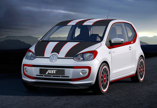 Volkswagen Up mit Abt-Tuning.