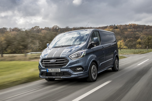 Ford Transit Custom Sport.