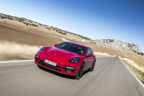 Zum Artikel Porsche Panamera Turbo S E-Hybrid Sport Turismo: Mehr Supersportler als Sparmobil