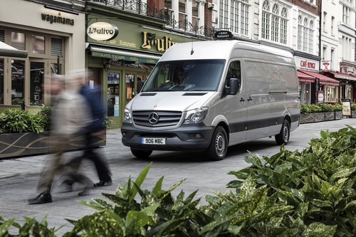 Mercedes-Benz Sprinter in Großbritannien.