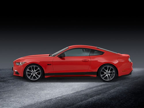 Ford Mustang mit Performance Parts.