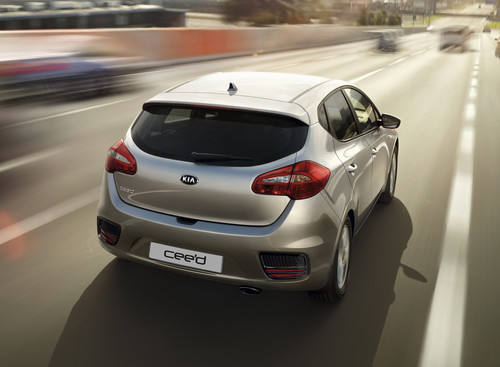 "Kia Cee'd Edition 7 Emotion mit ""Travel""-Paket."