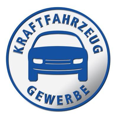 Logo vom Kraftfahrzeug gewerbe