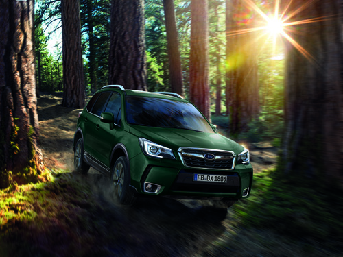 Subaru Forester 20th Anniversary.