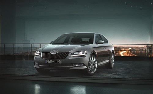 Skoda Superb Premium Edition.