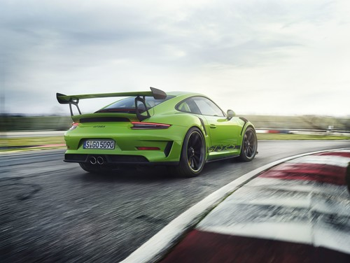 Porsche 911 GT3 RS nun mit 520 PS