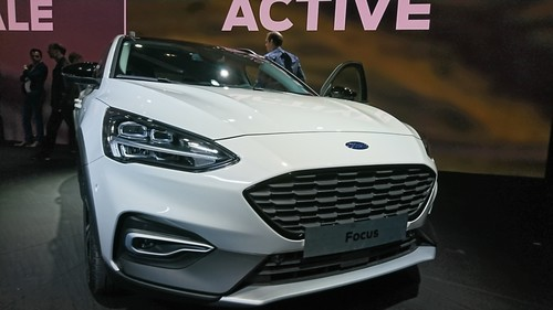 Weltpremiere des Ford Focus Active in London.