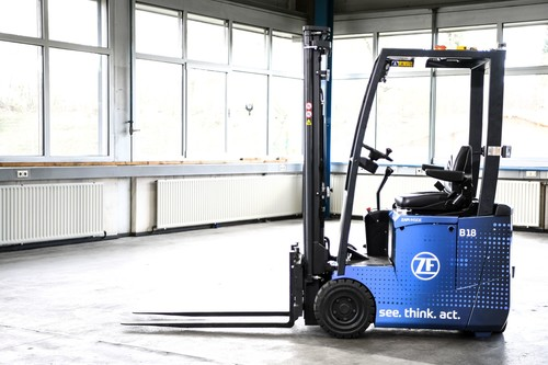 ZF Innovation Forklift.