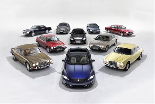 Zum 50 Jährigen Bestehen Der Baureihe Hat Jaguar Heute Auf Der Beijing  Motor Show In Peking (u20134.5.2018) Das Sondermodell U201eXJ50u201c Vorgestellt.