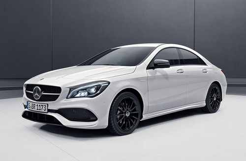 Mercedes-Benz CLA Coupé Urban Style-Edition.