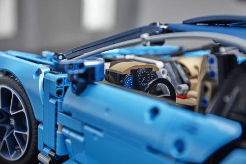 Der Bugatti Chiron wird jetzt von Lego gebaut