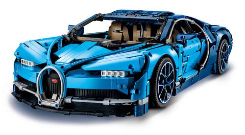 Bugatti Chiron als Lego-Bausatz - Service