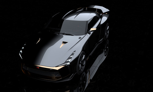 Nissan GT-R50 by Italdesign.