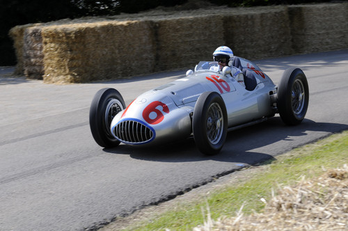 Mercedes-Benz mein Goodwood Festival of Speed.