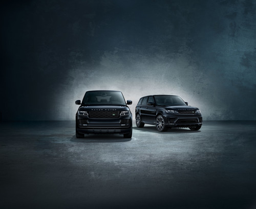 Range Rover Shadow Edition und Range Rover Sport Shadow Edition.