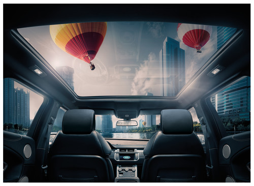 Land Rover Discovery Skyview.