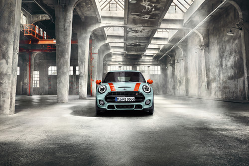 Mini Cooper S in der Delaney Edition.
