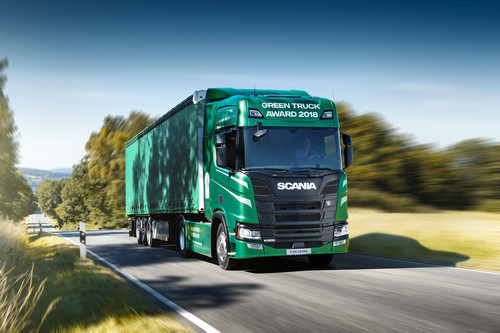 Scania R 500 Green Truck Award 2018.