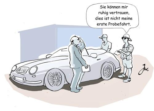 Ratgeber Bei Probefahrten Auf Versicherungsschutz Achten Auto