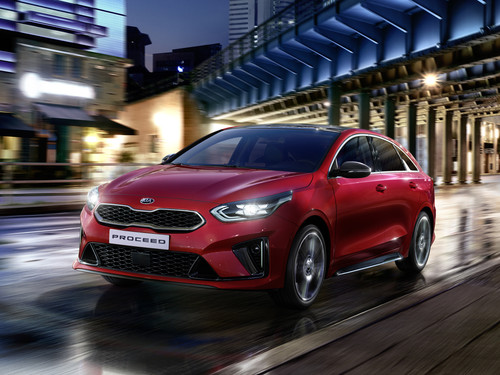 Kia ProCeed Shooting Brake.