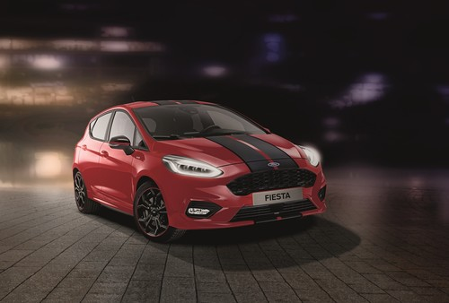"Ford Fiesta ST-Line ""Red""."