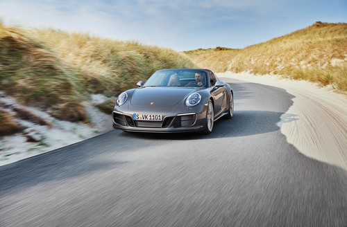 Porsche 911 Targa 4 GTS Exclusive Edition.