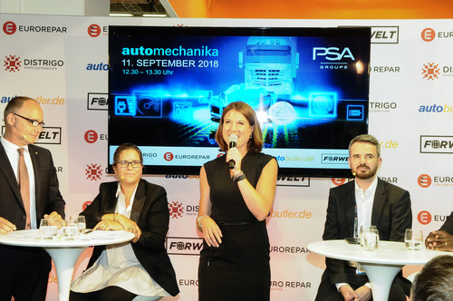 Euro Repar Car Services bei der Automechanika 2018.