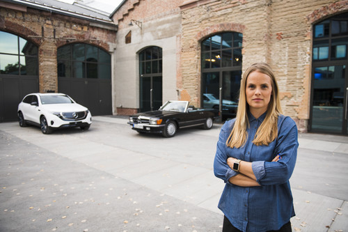 Bettina Fetzer leitet Marketing bei Mercedes-Benz