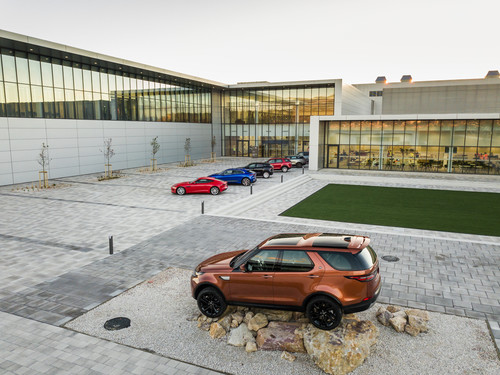 Jaguar-Land-Rover-Werk Nitra in der Slowakei.