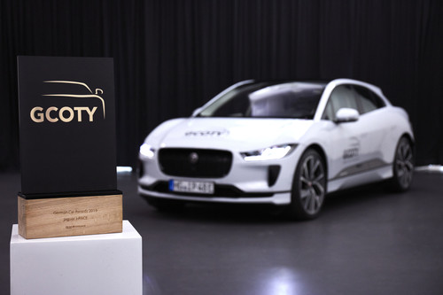 """German Car of the Year 2018"": Jaguar I-Pace."
