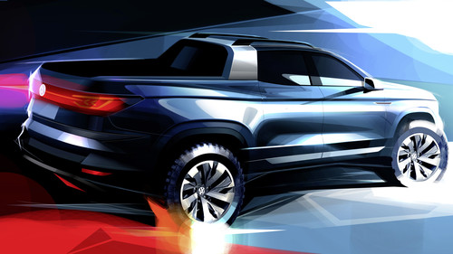 Volkswagen Pick-up Concept.