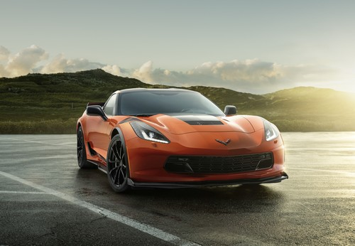 Chevrolet Corvette C7 Final Edition.
