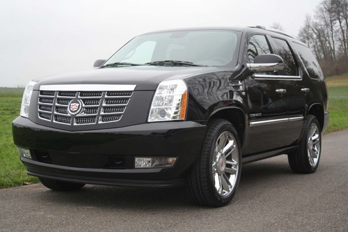 Cadillac Escalade Platinum Edition.