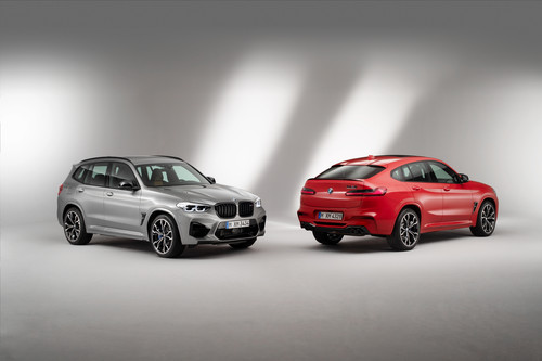 BMW X3 M Competition und X4 M Competition.