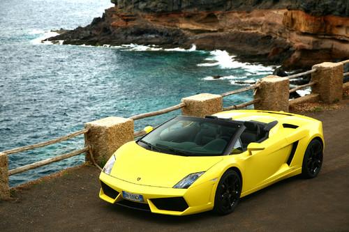 Lamborghini Gallardo Spyder.