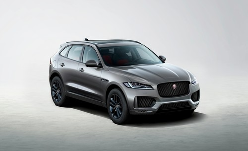 Jaguar F-Pace Chequered Flag.