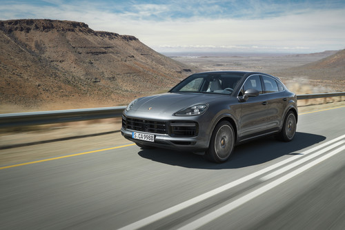 Porsche Cayenne Turbo Coupé.