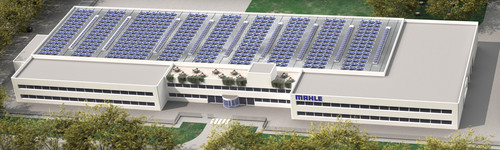 Geplantes Service-Solutions-Center von Mahle in Parma.