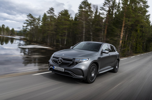 Mercedes-Benz EQC.