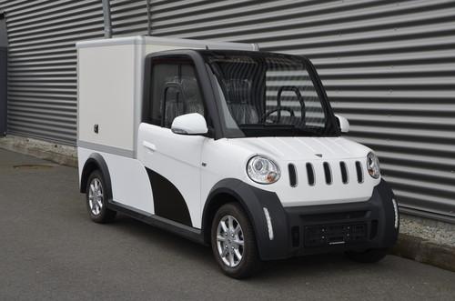 """b74910a547 Den kleinsten Elektrotransporter mit Straßenzulassung in Deutschland bietet  zur Zeit """"ARI Motors"""" aus Leipzig."""
