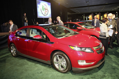 """North American Car of the Year 2011"": Chevrolet Volt."