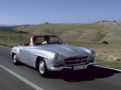 Mercedes-Benz 190 SL.